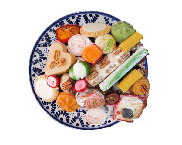 Arreglo de dulce en talavera grande la antigua santa for Platos dulces